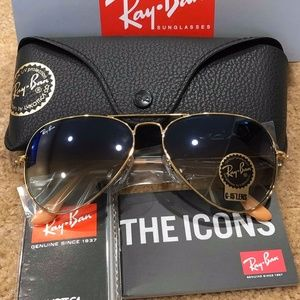 Brand New Authentic Ray-Ban AVIATOR CLASSIC RB3025